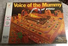 Vintage 1971 VOICE OF THE MUMMY BOARD GAME MILTON BRADLEY Complete Red Jewels