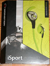 MONSTER ISPORT INTENSITY HEADPHONES GREEN