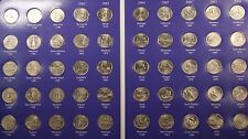 1999- 2008 Entire Washington Statehood Quarter 25c 50 Coin Finished Collection