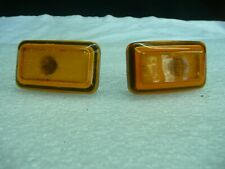 GENUINE PORSCHE 944 FRONT SIDE INDICATORS ORANGE