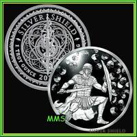 2020 1oz Co-vid Crucible Proof Silver Shield MiniMintage Virus USSA 2020 #14 ***