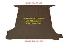 To suit Toyota Land Cruiser BJ HJ 73, 74 1985-1996 MWB Cargo Boot Vinyl Mat