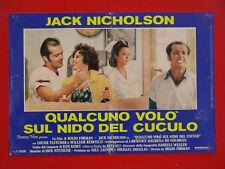 FOTOBUSTA, QUALCUNO VOLO' SUL NIDO DEL CUCULO, NICHOLSON, FORMAN, DRAMMATICO