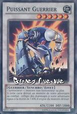 Yu-Gi-Oh ! Carte Puissant Guerrier  (par 3 !!)   LVAL-FR096  -  Commune