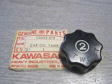 KAWASAKI NOS OIL TANK CAP S1 S2   52003-015