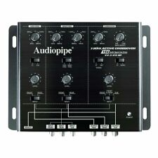 Audiopipe XV3V15BP 3 Way Active Crossover With Bandpass Filter BRAND NEW!