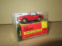 922P Schuco Piccolo 713 Mercedes 190 SL R121 Museum Sinsheim 1:90 + Boite