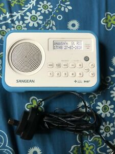 Sangean DPR-67 DAB+/FM RDS Digital Receiver , Time And Date , Adapter Included