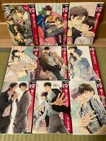 Yaoi manga Hidoku Shinaide Treat Me Gently 1-9 Japanese comic set Nekota Yonezoh