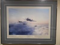 FLIGHT OF EAGLES by Robert Taylor's,  Aviation Print, FRAMED