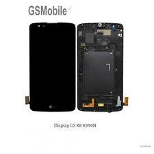 Display Pantalla LCD Tactil Touch Ecran Schermo LG K8 K350 K350N Negro Original