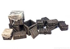 Boxes and chests - D&D, Mordheim, dungeon terrain, dwarven forge, dungeon decor