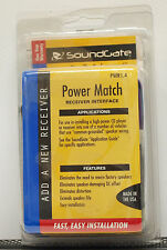 Soundgate Power Match Receiver Interface CD Player PWR1.4 NEW