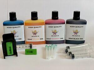 CANON PIXMA PG545 CL546 XL INK JET CARTRIDGE REFILL KIT MG2950, MG2950S, MG2955