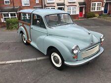 1960 Morris Minor 1000 traveller 3 former owners Good history