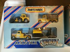 Matchbox Convoy Action Pack Baustelle Feuerwehr Construction Fire in OVP
