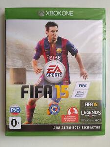 FIFA 15 Microsoft Xbox One Brand New Factory Sealed