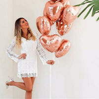Rose Gold Series Foil Latex Balloon Set Wedding Happy Bithday Party Supplies Hot