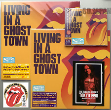 JAPAN ONLY SHM-CD +PURPLE & ORANGE VINYLS! ROLLING STONES LIVING IN A GHOST TOWN