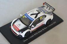 Spark S4525 - CITROEN C-Elysee WTCC n°68 1er R2 Race of Marocco 2015 1/43