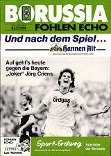 BL 85/86 Borussia Mönchengladbach - FC Bayern München, 30.11.1985, Jörg Criens