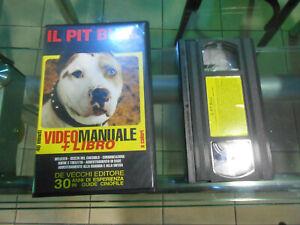 VIDEOCASSETTE VHS  film IL PIT BULL - DE VECCHI EDITORE