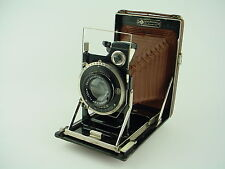 Kamera werkstätten dresden A-21 Brown Folding-bed camera  9x12 - Rare Color