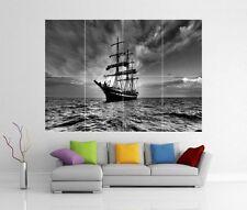 Vela Nave Pirata Barca Mare Giant WALL ART PRINT POSTER H263