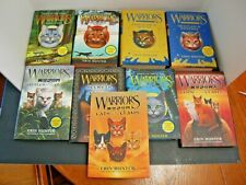 Warrior Cats Books By Erin Hunter Misc Lot Of 9 Hard Cover