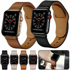 Genuine Leather Strap Band For Apple Watch SE 6 5 4 3 2  1 iWatch 38/42/40/44mm