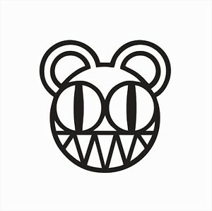 Radiohead Music Band Vinyl Die Cut Car Decal Sticker-FREE SHIPPING