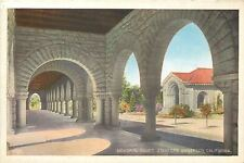 Stanford University,California~Memorial Court Through Arches~c1915 Postcard