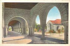 Stanford University,California~Mem orial Court Through Arches~c1915 Postcard