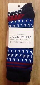 BNIP JACK WILLS Dunstan Socks - Pack Of 3