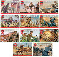 Hornby Airfix World War Figures Vintage Classics 1:76 Model Soldier Army Set