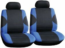 COPPIA Di Anteriore Blu Nero Car Seat Covers per PEUGEOT 206cc c59