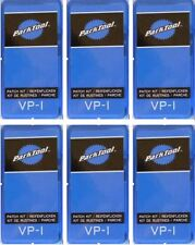 BICYCLE PATCH KITS (6) -- TIRE/ TUBE - REPAIR - VulcanIze - Park Tool VP-1   New