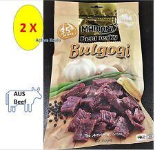 Mariani Beef Jerky Korean BULGOGI 700g Premium Australian Beef Low Fat