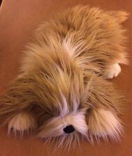 """Dakin Lou Rankin Fluffy Shih Tzu Dog Plush 14"""""""