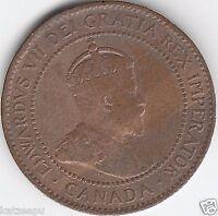 Kanada - 1906 - Edward VII. - One Cent Münze