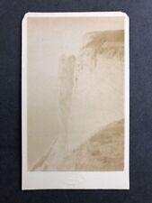 Rare Victorian Carte De Visite CDV: (Top) Beachy Head: January 1878