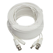 Zxtech 20M White Pre-Made RG59 Siamese Cable