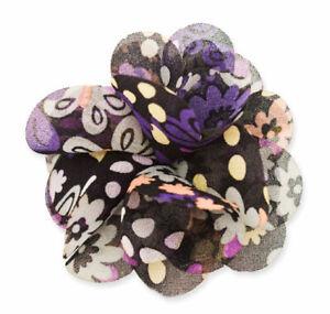 Mia Flower Clip/Pin, Hair Accessory Hair Clip + Clothes Decoration