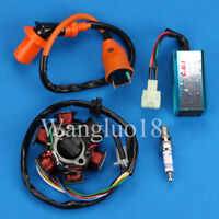 CDI Box Ignition Coil FOR GY6 150 6 Pole Stator 150cc Performance ATV Go Kart