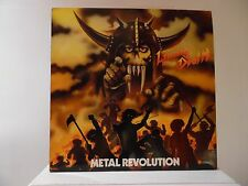 LIVING DEATH - METAL REVOLUTION - EARTH SHAKE RECORDS-ES 4012 -IMPORT W. GERMANY