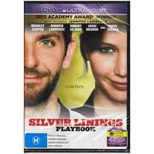 DVD SILVER LININGS PLAYBOOK Bradley Cooper Jennifer Lawrence DVD+UV R4 [BNS]