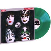Kiss-Dynasty Green Color Vinyl - Special Edition..--. SEALED