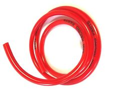 "3' LENGTH OF 1/4"" ID X 3/8"" OD FUEL LINE RED MINI BIKE GO KART MOWER DRIFTER"