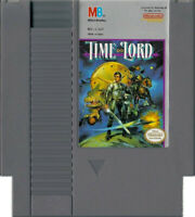 Time Lord Authentic NES Game Cartridge Clean *VG
