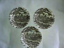 Three small Royal Mail fine Stafordshire bowls